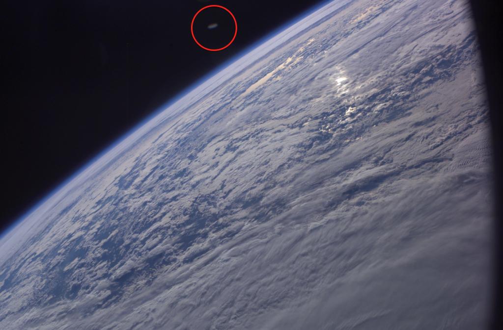 OVNI es captado en fotografía de la NASA -  Fuente: NASA