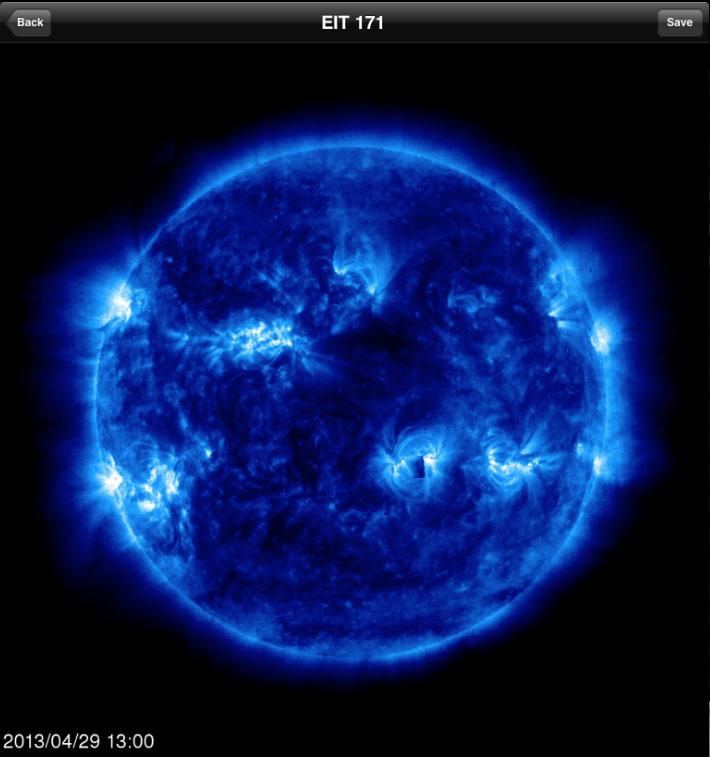 Anomalía en el Sol