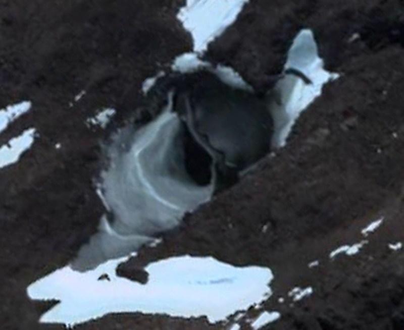 Base alienígena en la Antártida
