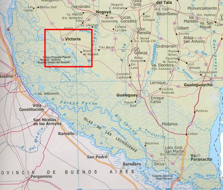 Ubicación geográfica de Victoria