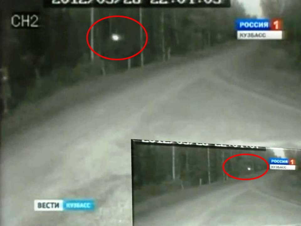 Extraño objeto tipo Orbe captado en vídeo en Rusia