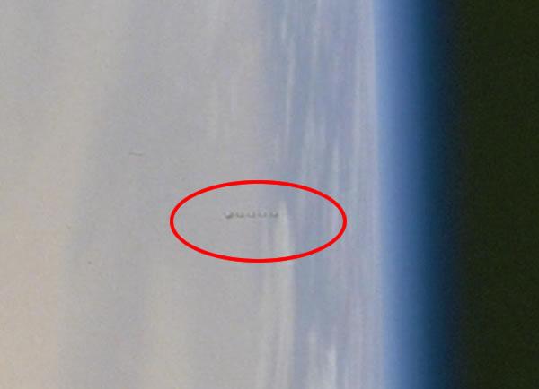 OVNI en misión espacial STS-100