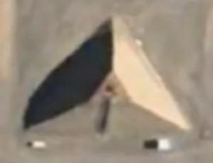 Pirámide gigantesca en el Área 51
