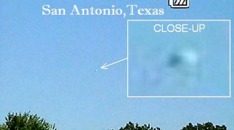 Orbe misterioso en San Antonio, Texas