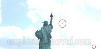 Fotografías recibidas: Anomalía es captada en fotografía de la Estatua de la Libertad (EE.UU)