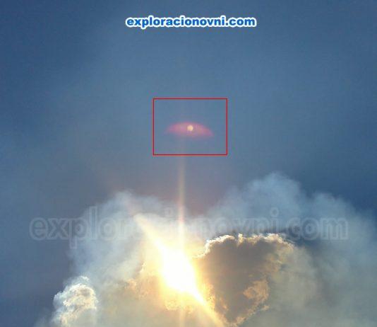 Fotografías recibidas: Anomalía en el cielo aparece en fotografías de Badajoz, España