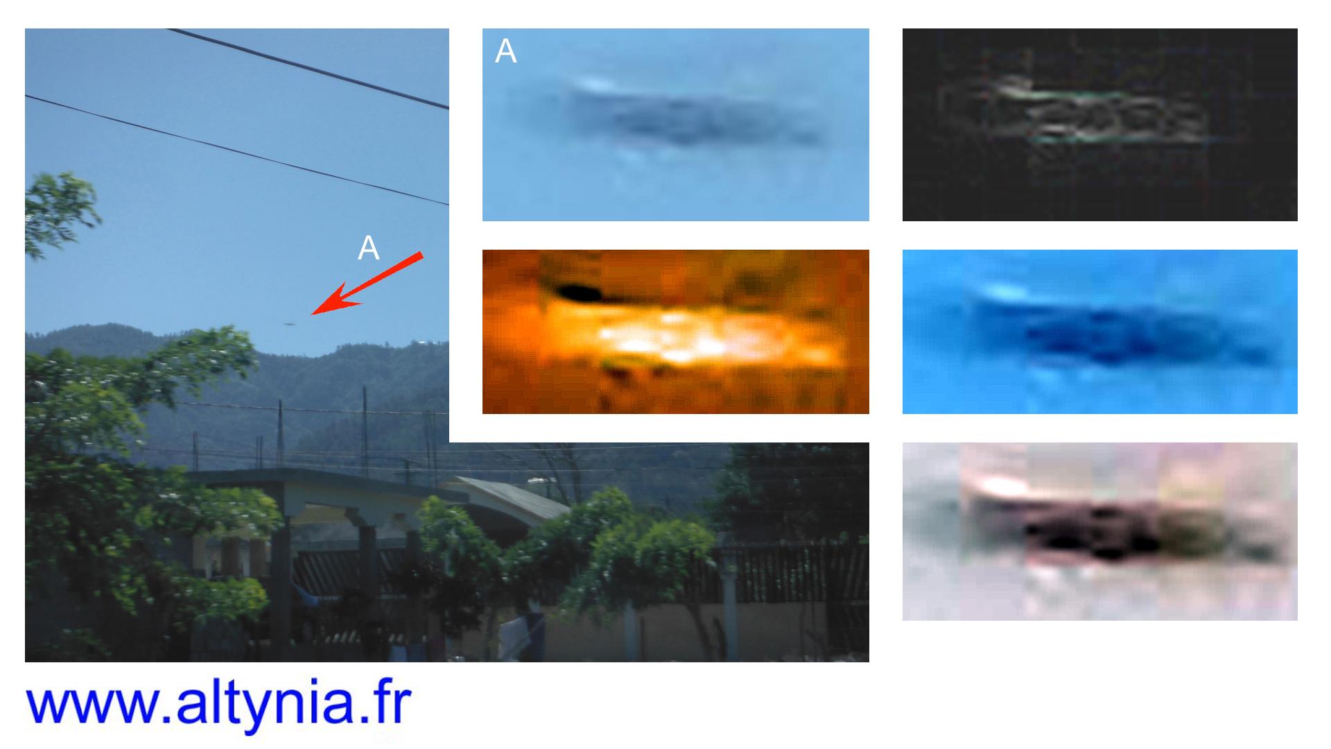 Análisis de la anomalía en la imagen realizado por Alain Jamet desde Francia