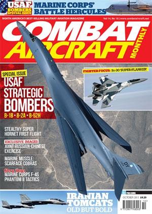 Portada de Revista mensual Combat Aircraft. (Crédito: Key Publishing)