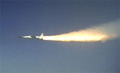 X-43A de la NASA (Crédito: NASA)