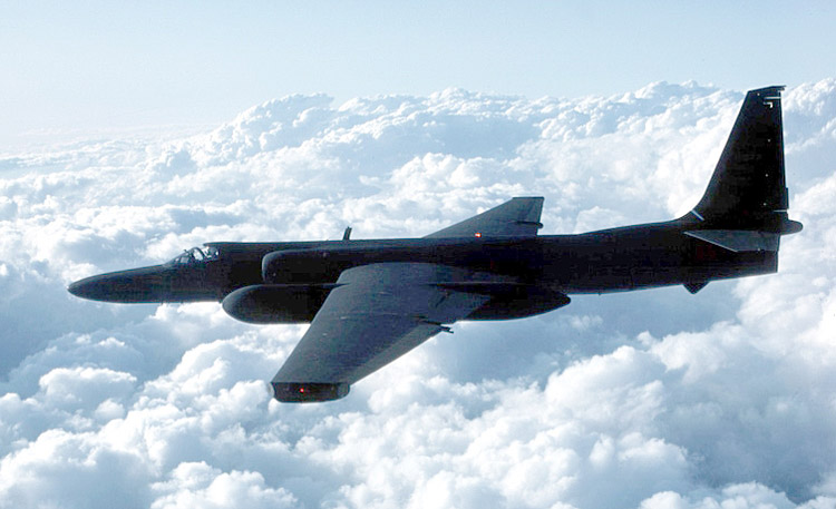 USAF Lockheed U-2 Dragon Lady.