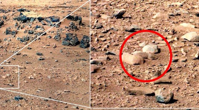 Anomalías en Marte