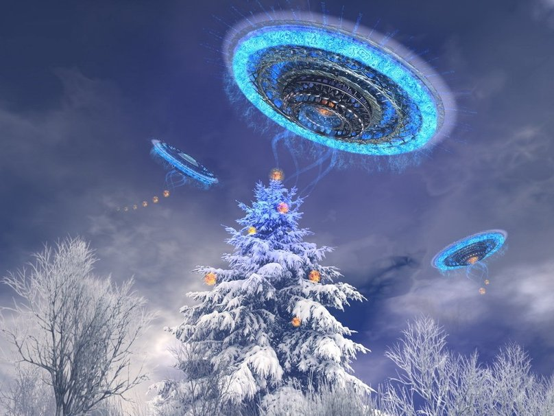 Feliz navidad les desea Exploración OVNI