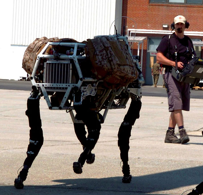 Big dog - Robot de Boston Dynamics