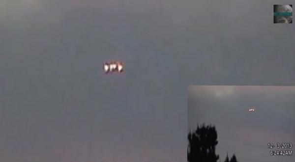 Objeto volador extraño en Los Agngeles