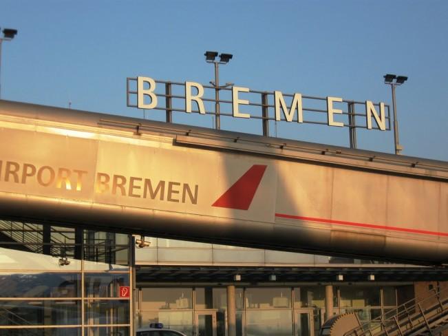 Aeropuerto en Bremen, Alemania