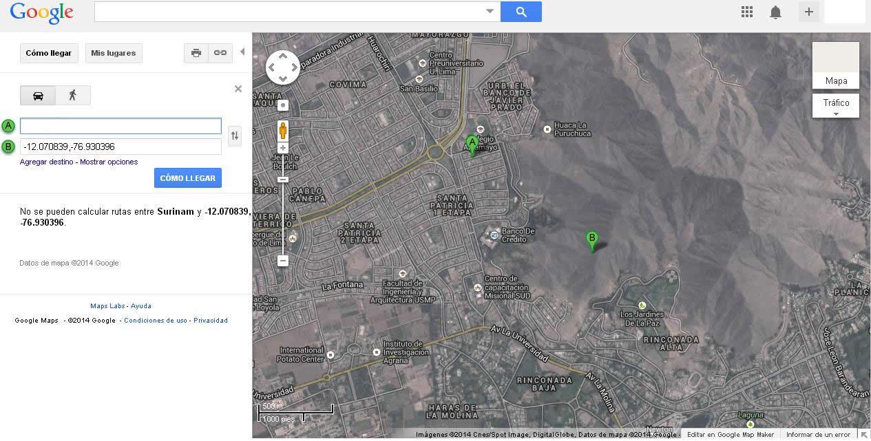 Avistamiento de extrañas luces en La Molina, Lima