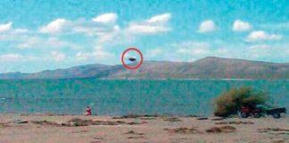 Argentina: ¿Un OVNI en el lago Musters?