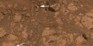"""La NASA dice haber resuelto el misterio sobre la roca marciana """"Pinnacle Island"""""""