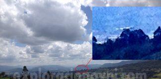 Objeto volador desconocido fotografiado sobre Embalse de Neusa, Cundinamarca, Colombia