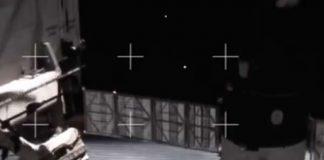 Sorprendente vídeo de NASA muestra actividad OVNI cerca de la Estación Espacial