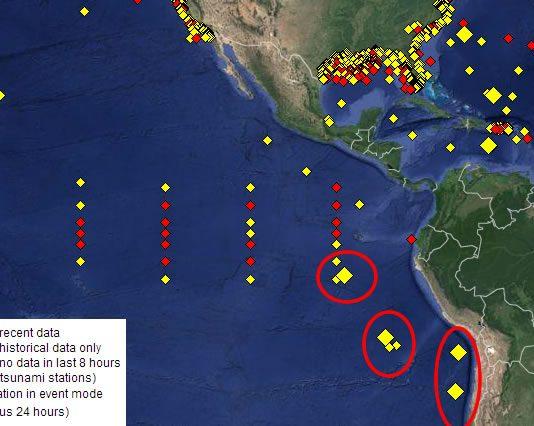 NOAA - BOYAS MARINAS ACTIVAS EN ESTE MOMENTO