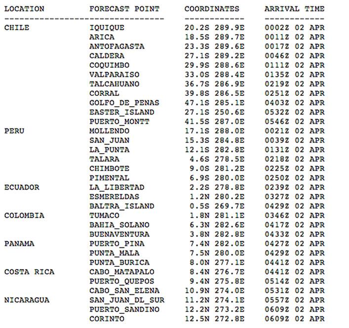 Un sismo de magnitud 8,2 sacude Chile y Perú