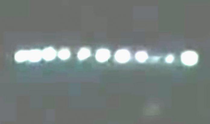 OVNI sobre Lima, Perú, supuestamente grabado el 12 de abril (2014)