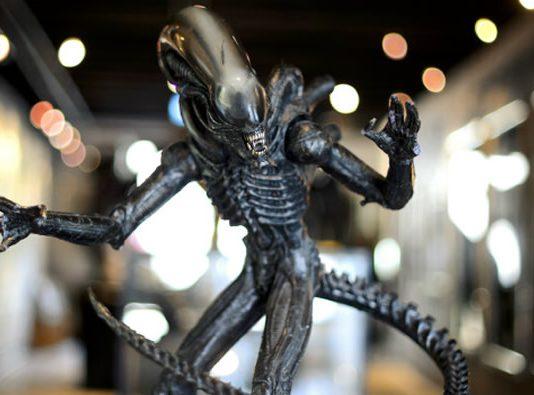 El Alien ideado por H.R. Giger tenía muy pocos rasgos humanoides.