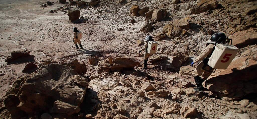 Refrito conspiranoico: Infante de Marina de EE.UU. afirma que pasó 17 años en Marte