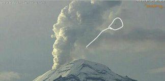 Reportan avistamiento de OVNI en el Popocatépetl