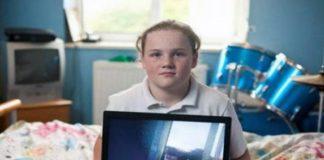 Una niña de 11 años filmó un supuesto ovni
