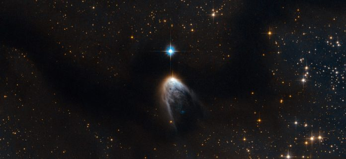El nacimiento de una estrella captada por Hubble, una de las imágenes astronómicas del año