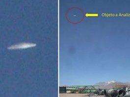 Confirman en Chile avistamiento de OVNI y difunden imagen