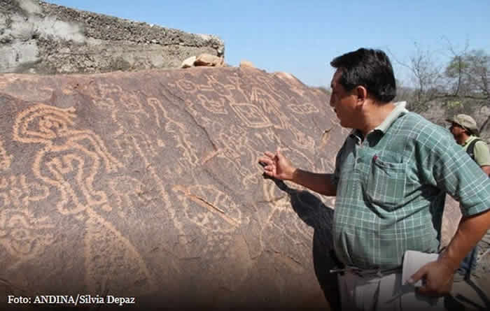 Descubren un laboratorio astronómico en Licurnique, Lambayeque, Perú