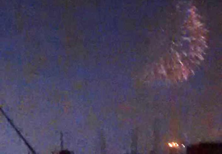 04 de agosto de 2014 • 23:17 • actualizado a las 00:11 Fuegos artificiales habrían causado fuertes sonidos en Lima