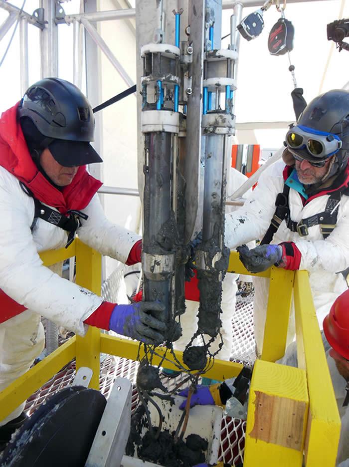 Microbios antárticos ayudan en la búsqueda de vida extraterrestre