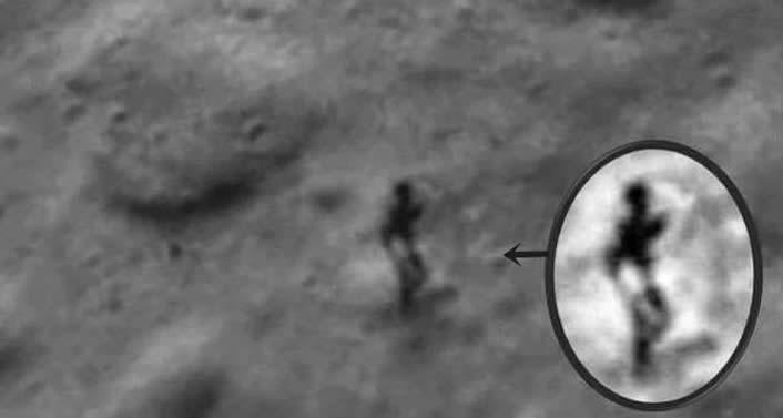Afirman haber resuelto el misterio del humanoide en la Luna