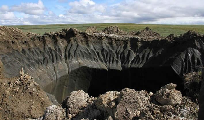 Los científicos creen haber resuelto el misterio del cráter siberiano