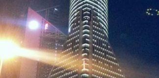 El OVNI registrado por fotógrafo en Shanghái, China, sería solamente un reflejo