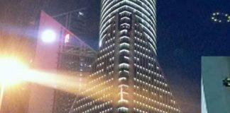 Actualización: El supuesto OVNI en Shanghái, China, era una torreta de luz