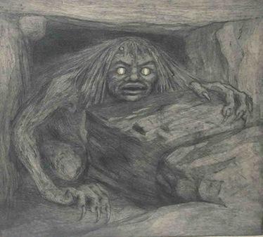 Representación artística de un Troll