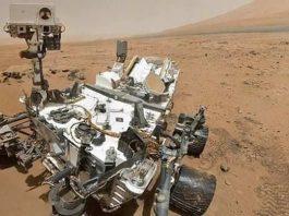 Materia orgánica encontrada en Marte.