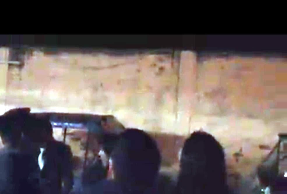 Testigos del avistamiento registrado en Chulucanas el 22 nov. 2014.