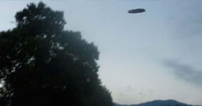Anomalía fotografiada en Salta. También se ha dicho que una vecina vio luces en el cielo días atrás.