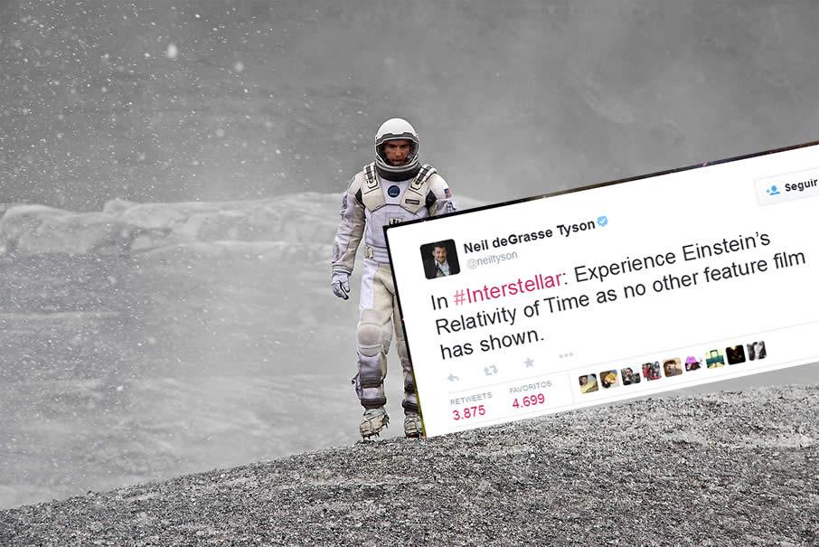 """Neil deGrasse Tyson ha aportado sus apreciaciones y críticas sobre la película """"Interstellar"""""""