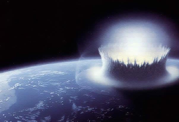 El impacto de asteroides en la Tierra temprana habría brindado mucha del agua que hoy posee.