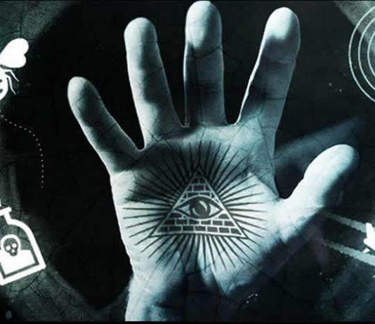 """""""El Ojo que todo lo ve"""", símbolo que se supone representa a los Illuminati"""