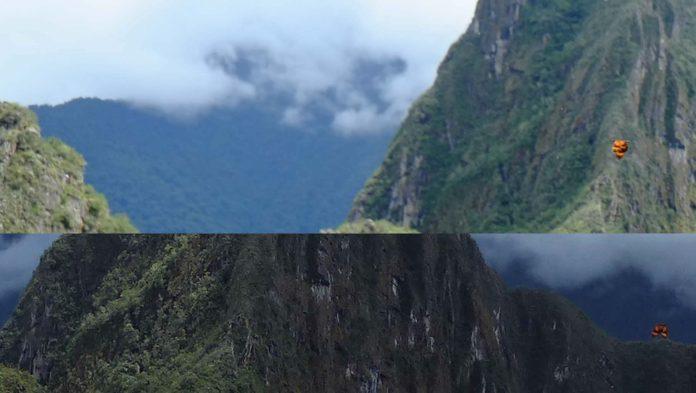 Nuevas revelaciones sobre el caso de objeto aero-anómalos fotografiados sobre Machu Picchu: Existe otra fotografía que muestra la misma anomalía.