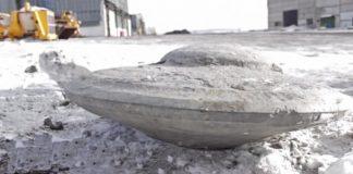 Misterioso artefacto encontrado en una mina de carbón en Rusia.
