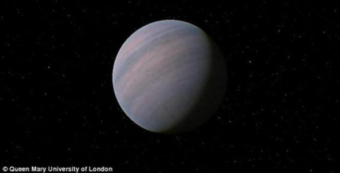 Recreación artística de la apariencia de Gliese 581d.